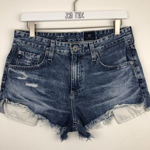 Ag Adriano Goldschmied Shorts - AG Adriano Goldschmied The Sadie Short